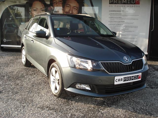 Carro Skoda Fabia Break foto principal